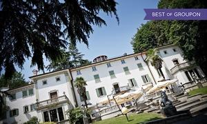 San Lucio Events: Pranzo o cena con delitto e menu d'autore di 4 portate con vino in 3 diverse dimore storiche con San Lucio Events