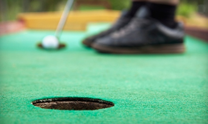 Fuzzy's - Chrisney: Mini Golf, Arcade Games, Go-Karting, and Ice Cream for Two, Four, or Six at Fuzzy's in Jasper (Up to 59% Off)