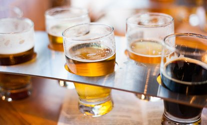 image for Tasting Beer Paddle with Nachos to Share for Two, Four or Six at Swan in the Rushes