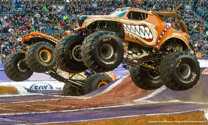 image for Monster Jam on Friday, February 16, or Saturday, February 17, at 7 p.m.