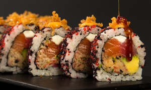 Japanese Cuisine for Two or Four or More for Dinner at Ikura Sushi Lounge (60% Off)