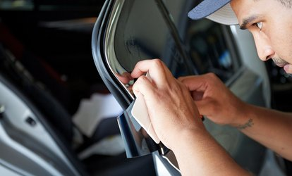 image for Auto Tinting for Two or Five Windows at Hot Tint Speed & Sound (Up to 57% Off). Three Options Available.