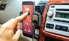 Aduro Wireless FM Transmitter & Universal Car Vent Mount (1- or 2-Pk.)