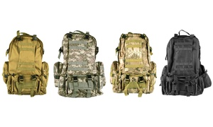 4-in-1 Outdoor Tactical Backpack