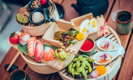 JapaneseInspired Afternoon Tea for Two at Nozomi Birmingham