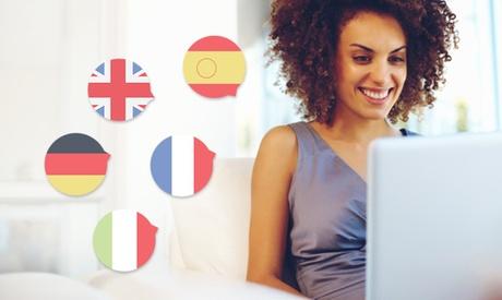 4, 8 o 15 meses de acceso online a 5 cursos: inglés, alemán, francés, italiano y business English desde 19 € en Lerni