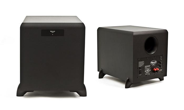 subwoofer a better home store groupon. Black Bedroom Furniture Sets. Home Design Ideas
