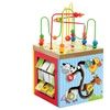 Multi-Function 5-in-1 Wooden Learning Center for Kids