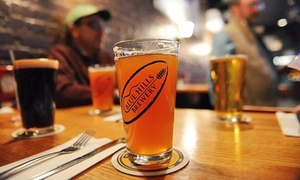 Blue Hills Brewery: $29 for a Beer Tasting with T-Shirts, Glasses, and Growlers for Two at Blue Hills Brewery ($47 Value)