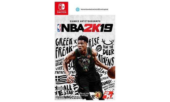 NBA 2K19 for PlayStation 4, Xbox One, or Nintendo Switch | Groupon