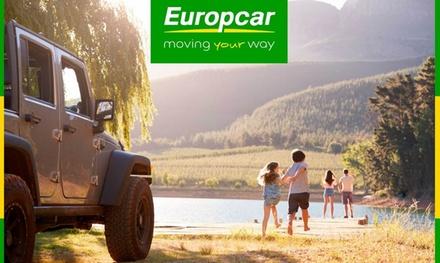 Obtén 10 €, 30 €, 40 €, 60 € o 90 € de crédito para alquilar tu coche con Europcar