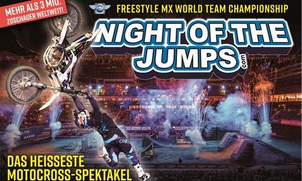 1 Ticket, Kategorie 2 für Night of the jumps 20.9. in der Barclaycard Arena Hamburg (50% sparen)
