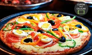 Texas Saloon Pizzaria: Rodízio de pizza + fondue de chocolate para 1 ou 2 pessoas no Texas Saloon Pizzaria – Gramado