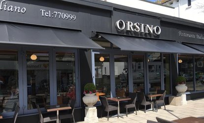 image for Two-Course Italian Meal for Two or Four at Orsino Restaurant (Up to 55% Off)