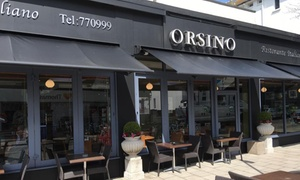 Orsino Restaurant: Two-Course Italian Meal for Two or Four at Orsino Restaurant (Up to 55% Off)