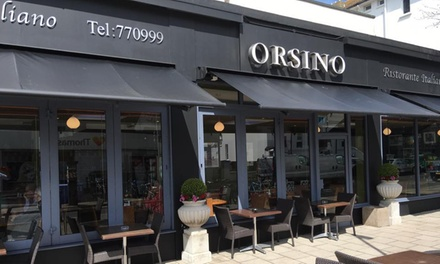 Two-Course Italian Meal for Two or Four at Orsino Restaurant (Up to 55% Off)