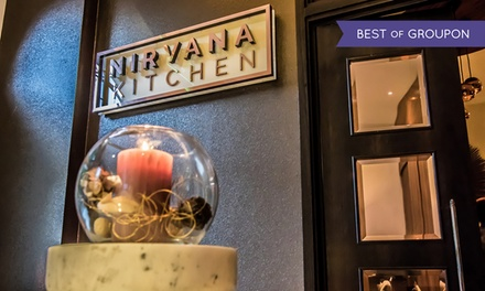 Six-Course Sharing Menu Meal with Sparkling Wine for Two or Four at Nirvana Kitchen at The Montcalm London Marble Arch