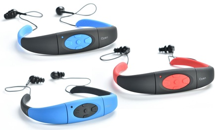 Waterproof MP3 Player for Swimming: 4GB 29.95 or 8GB $34.95