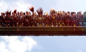 Fort Fun Abenteuerland: Tagesticket inkl. Softdrink-Flatrate und Hotdog für 1 Person für das Fort Fun Abenteuerland (36% sparen*)