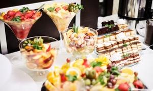 Hotel Wiktoria: Niedzielny brunch all you can eat dla 2 osób za 89,99 zł i więcej opcji w restauracji w Hotelu Wiktoria (do -43%)