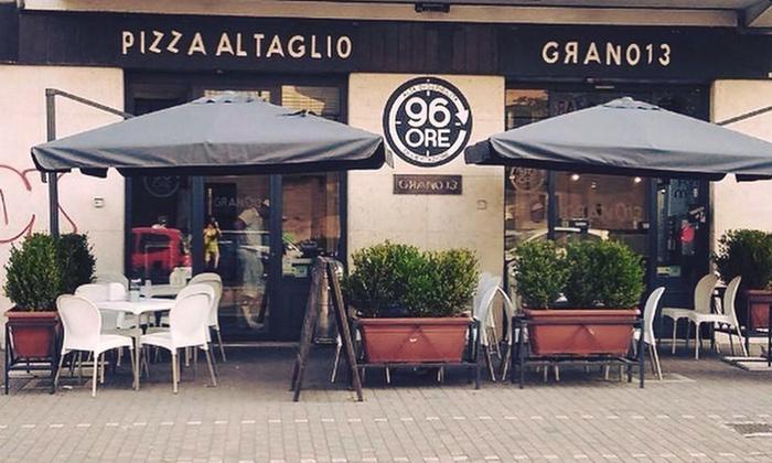 Aperipizza con supplì, tagliere di pizza gourmet a scelta e bibita in bottiglia fino a 6 persone ad Ostia da Grano 13