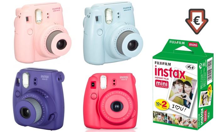 Appareil photo instantané, Fujifilm Instax Mini 8, reconditionné à neuf, garantie 1 an et livraison offerte