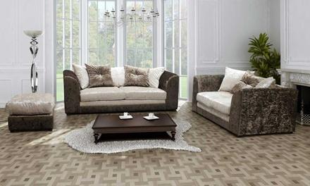 Aurora Velvet Sofa Collection