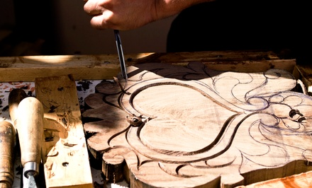Four-Hour Introductory Carving Class for One or Two at Calvo Studio (Up to 50% Off)
