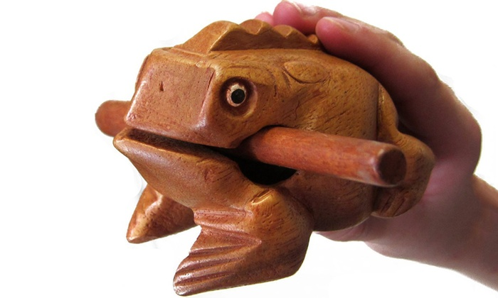 Up To 60% Off on Frog Percussion Instrument | Groupon Goods
