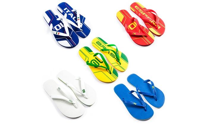 9e22d235cef87 ... Unisex Dupe Havaianas Flip Flops ... best quality b2af8 9d674  Havaianas  Flip Flops Adults Kids Brasil Logo ...
