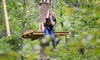Treetop Adventure - London: High Ropes Course for Two, Four, or Six People at Treetop Adventure (Up to 31% Off)
