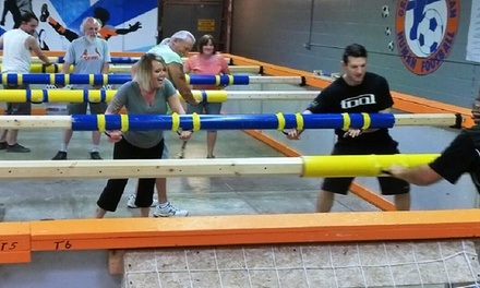 One 35-Minute Human Foosball Game or a Two-Hour Facility Rental at Great American Human Foosball (Up to 37% Off)