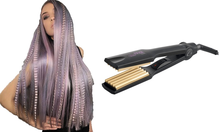 newest d9629 b0a9a Piastra Ceramix per capelli con effetto Frisé Gama