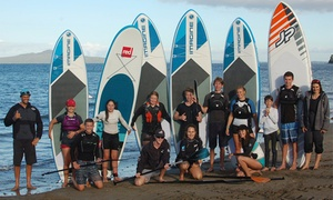 Watersports South Pacific: 1-Hr Private SUP Lesson for One ($35), Two ($65) or Three People ($95) with Watersports South Pacific (Up to $150 Value)