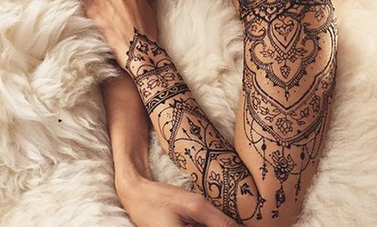 image for 60 Minutes of Tattoo and 30-Minute Consultation Time at Tales of Inkspiration (78% Off)