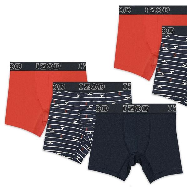 c75a58f7ef77 Up To 67% Off on Izod Men's Boxer Briefs (6-Pack) | Groupon Goods