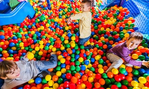 Kidz Digz Indoor Playcentre & Cafe: One ($5), Three ($12) or Five All-Day Play Passes ($18) at Kidz Digz Indoor Playcentre & Cafe (Up to $40 Value)