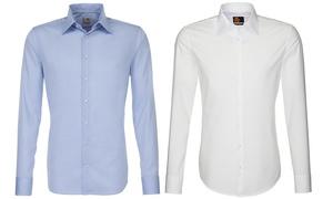 Business Fashion Store: Seidensticker Herrenhemd in Design und Farbe nach Wahl im Business Fashion Store (60% sparen*)