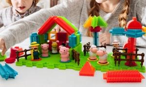 PicassoTiles Bristle Block Building Set (60-, 100, or 120--Count)