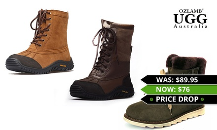 for Unisex Ozlamb UGG Hiking Boots Don't Pay up to $399