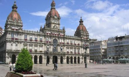 La Coruña: habitación doble para 2 personas con desayuno en Hotel Nido