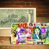 Signed Rency Batman Pop Art $2 Bill