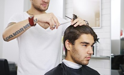 $49 Men's Hair Cut, Shave, and Facial or $79 with Take-Home men-ü Product Pack at Davilia - Ardross (Up to $139 Value)