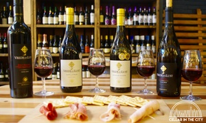 Cellar in the City: Choice of Five Food and Wine Pairings from R199 for Two at Cellar in the City