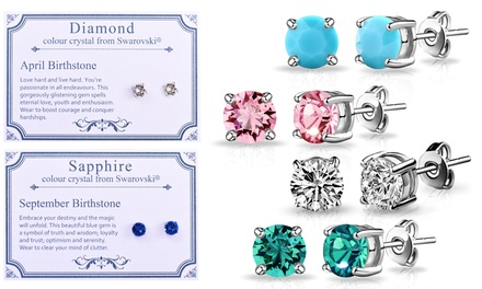 Philip Jones Birthstone Earrings