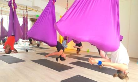 Cours de yoga aérien pour 1 ou 2 personnes
