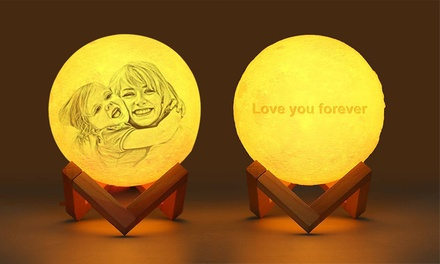 $29 for Personalised Moon Lamp (Don't Pay $229.77)