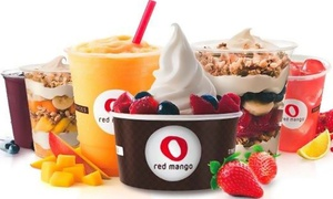 Red Mango: Four Groupons, Each Good for $5 Worth of Fro-Yo, or a Three-Day Juice Detox at Red Mango - Frankfort (50% Off)