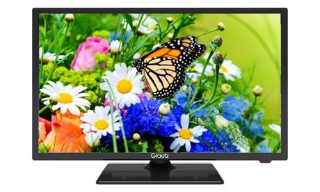 TV LED GR22E2200 Graetz a 22″ HD Ready DVB-T2 H.265 Satellitare DVB-S2 con spedizione gratuita