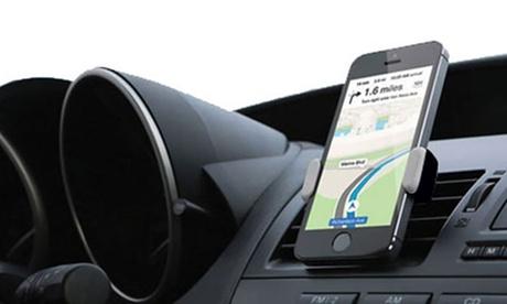 1 o 2 soportes de smartphones universales ajustables y giratorios para coche